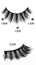 "Load image into Gallery viewer, ""Diamond Girl"" Wispy 3D Cruelty Free Lashes"