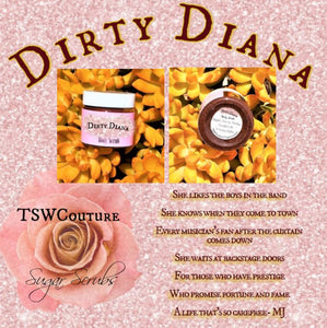 """Dirty Diana"" Coffee infused Sugar Scrub"
