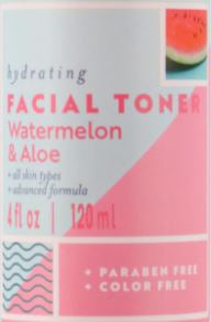 Delightful Watermelon and Aloe Facial Toner