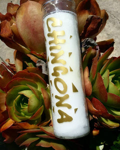 CHINGONA PRAYER CANDLE