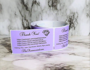 HANDLE WITH CARE Labels Thermal, Packing Stickers, Custom labels, Personalized labels, Product labels, website labels