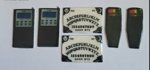7 GHOST HAUNTING Cabachon Tools Ouija Boards K2 Meters and PSB 7s Planchette Cabochons