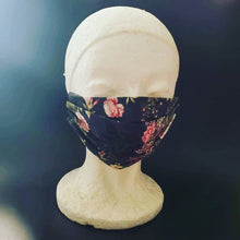 Load image into Gallery viewer, ROSES & LACE MASK Adult Face Mask Double Layer