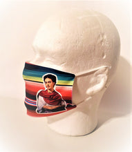 Load image into Gallery viewer, ZARAPE FRIDA Kahlo Print Adult Face Mask Double Layer