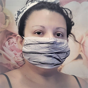 DUCT TAPE Print Adult Face Mask Double Layer 100%