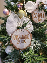 Load image into Gallery viewer, SLEIGH ALL DAY Personalized Custom Ornament Family Name Wooden Ornament Christmas Tree Wood Slice Ornament