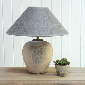 NERO LAMP with GREY SHADE