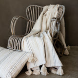 MALAX TEXTURED WEAVE THROW