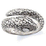 Bague Serpent Ouroboros l Snake Temple