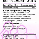 Appetite Stimulating Mix Tincture, Organic