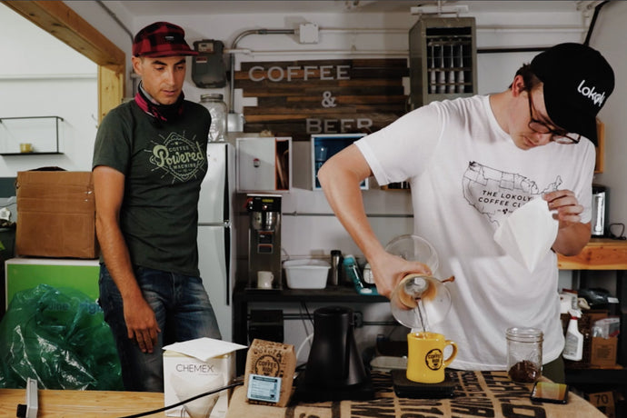 Roaster Josh's Pour Over for Two | Chemex Recipe