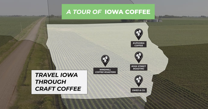 """Iowa Coffee Tour"" Specialty Coffee Box Released 