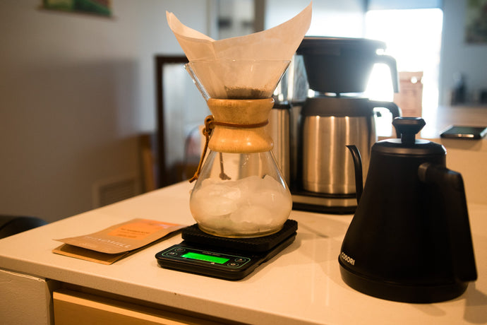 Roaster Andrew's Iced Coffee | Chemex Brew Recipe