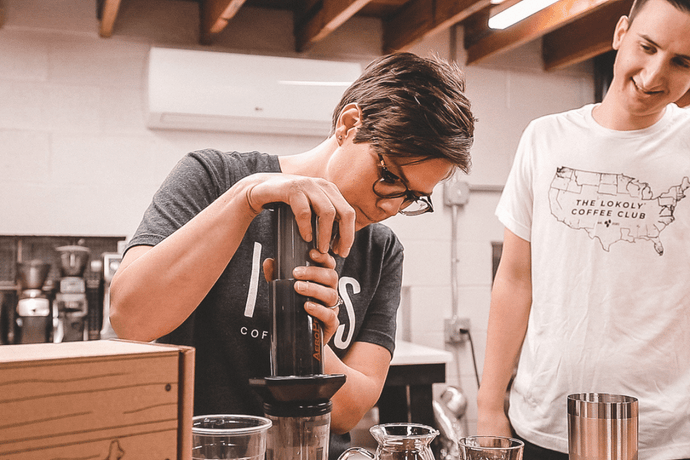 Cambodian Cold Brew | Aeropress Brew Recipe