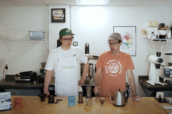 Brian Gumm's Famous Mini Cano | AeroPress Brew Recipe