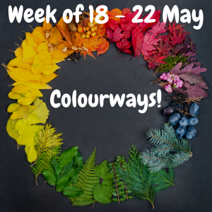 Week of 18 - 22 May - Colourways