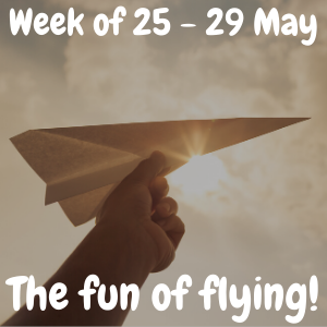 Week of 25 - 29 May - The fun of flying