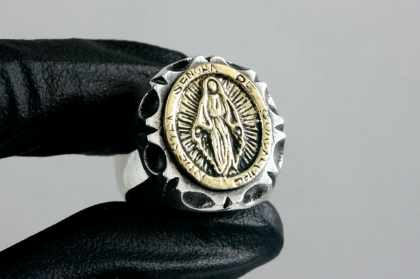 MEXICAN SHAPE MARIA RING
