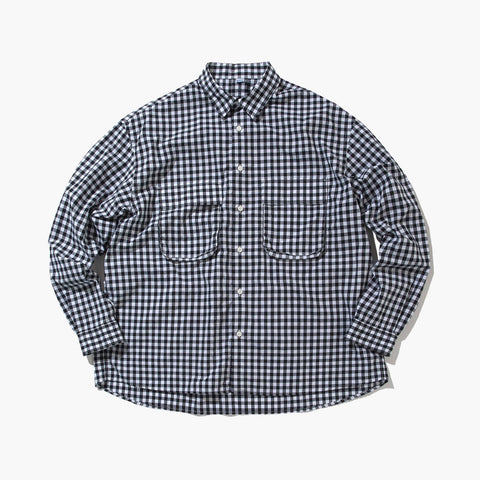 GINGHAM WIDE SHIRT