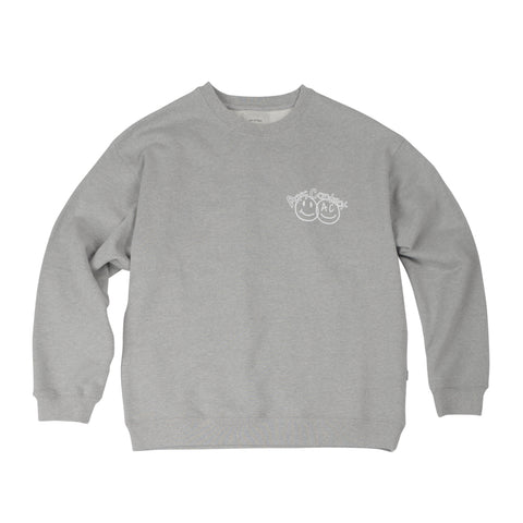 AC 2401 SWEAT SHIRTS.GRAY