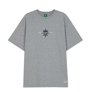 SIMPLE LOGO T-SHIRT_GRAY