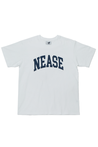 NEASE college logo t-shirt (white)
