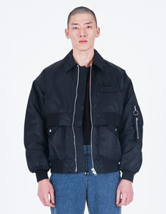 New Double Bomber Jacket Black