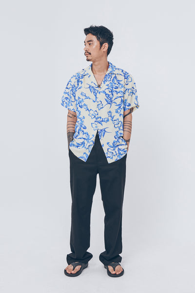 Flower Pattern Shirt