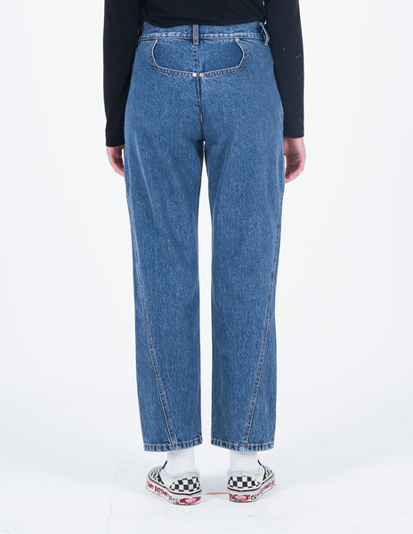 Deconstructed Denim Jean Indigo