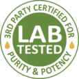 3 Party Certified Lab Tested