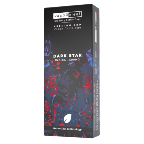 Nano-CBD Full Spectrum Cartridge – Dark Star 500mg