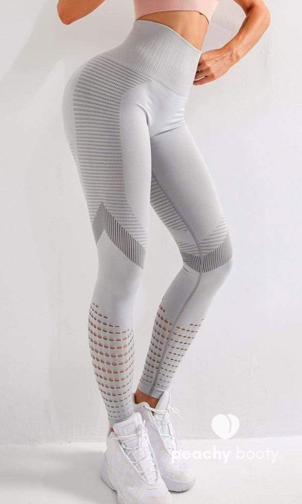 Baby Jane Leggings - Bootyful Peach