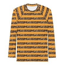 Load image into Gallery viewer, LEOPARD STRIPE THERMAL UNDER SHIRT
