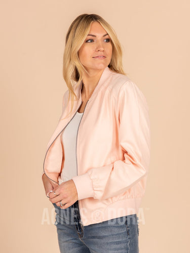 Agnes & Dora™ Jet Setter Jacket Rose Water