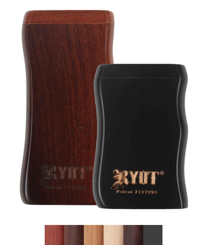 RYOT Magnetic Wooden Taster Dugout - Nevernaire Smoke shop