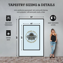 Load image into Gallery viewer, Path Less Traveled Tapestry - Nevernaire Smoke shop