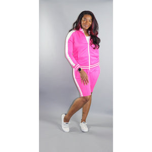 Pink Tracksuit (shorts)