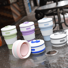 Load image into Gallery viewer, 2-in-1 Premium Collapsible Travel Cup