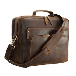 Polare Handcrafted Business Leather Briefcase