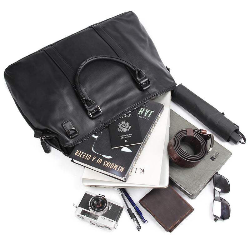 "Polare 18"" Soft Leather Airplane Duffle Bag"