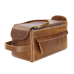 Polare Toiletry Bag for Men - Dopp Kit for Travel Large Shaving Bag