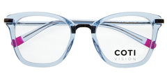GUBBIO CRYSTAL BLUE READING GLASSES