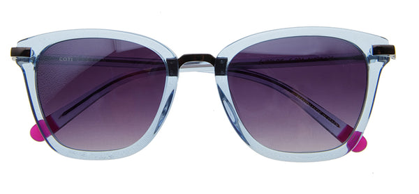 GUBBIO CRYSTAL BLUE SUNGLASSES