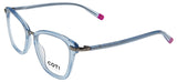 Gubbio Reading Glasses Crystal Blue