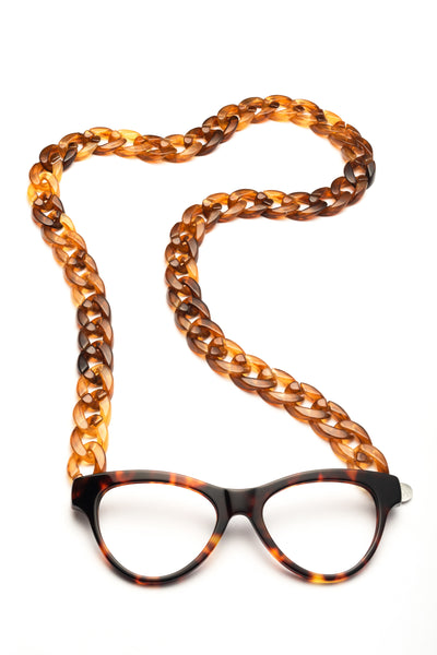 JOEN Necklace Reading Glasses Amber