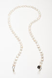 ELEMENTS Glasses Chain Pearls White