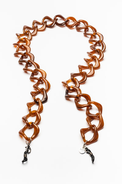 AMORE ITALIA Glasses Chain Vita Toffee