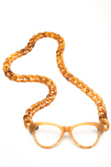 JOEN Necklace Reading Glasses Honeycomb