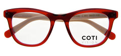 ORTISEI RED READING GLASSES