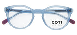 Varese Reading Glasses Matt Light Blue